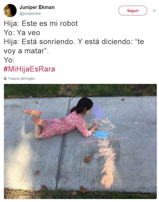 Tuits pequeños ajenos - robot asesino