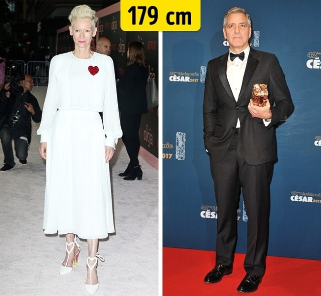 179cm Celebridades hollywood