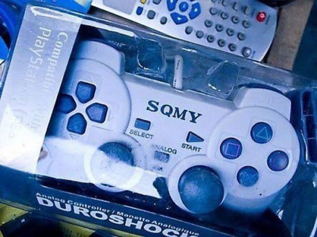 Control de marcar imitación de Sony