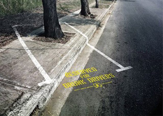 campaña original de conciencia contra tomar mientras manejas