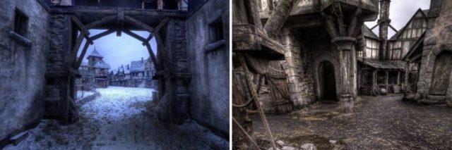 el set de hanzel y gretel cazadores de brujas ha sido abandonado