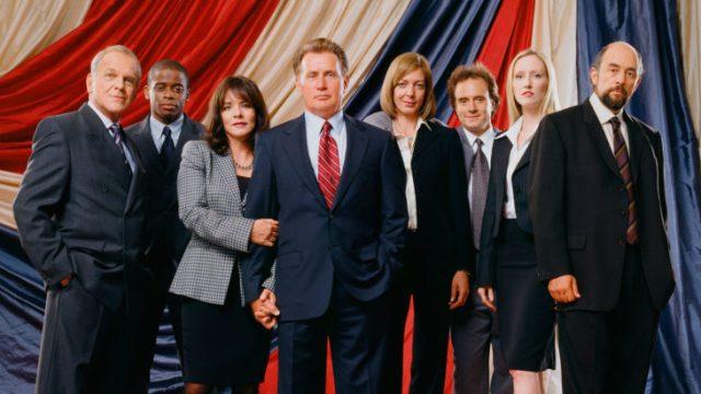 elenco de la serie west wing