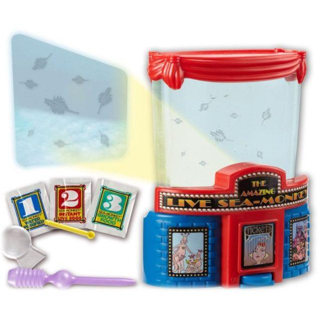 Sea Monkeys juguetes de la infancia