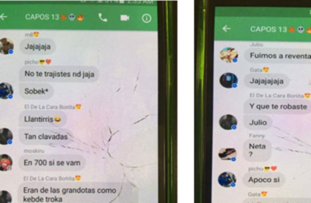 Whatsapp de robo