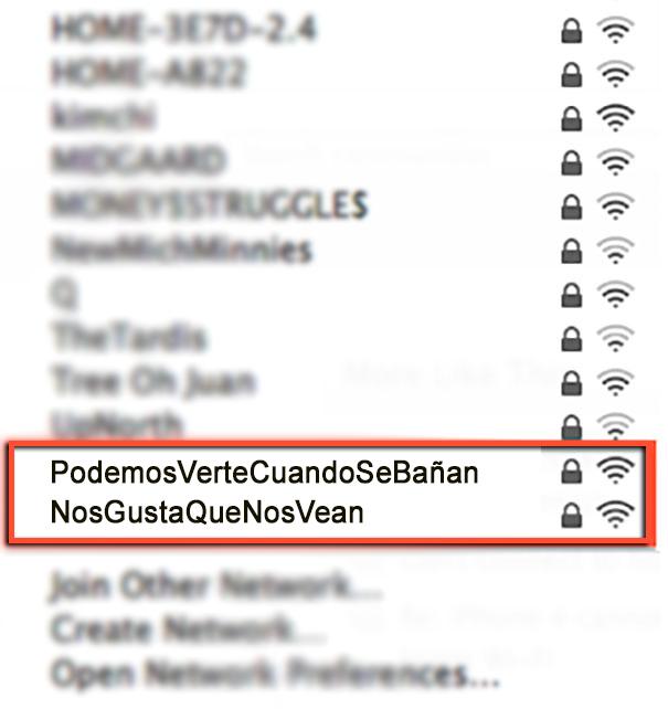 redes wi-fi vecinos