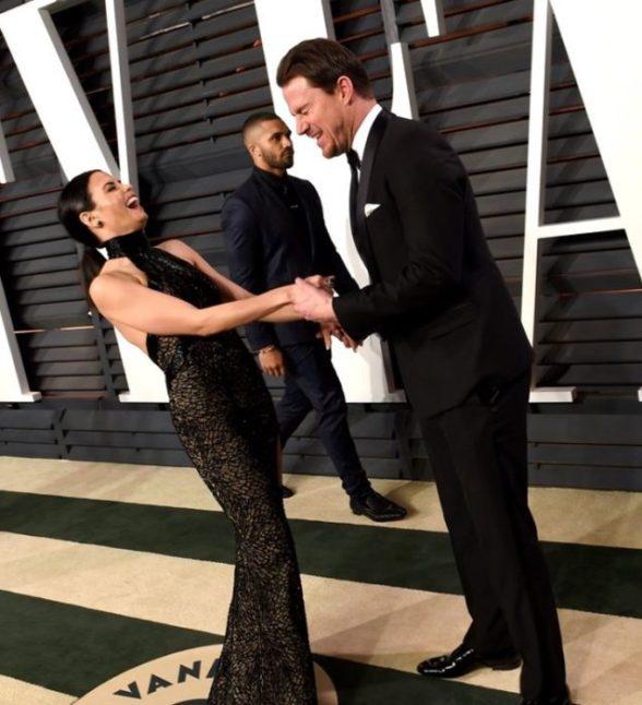 Channing Tatum y su esposa