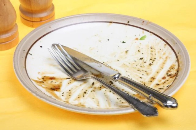 Limpiar el plato