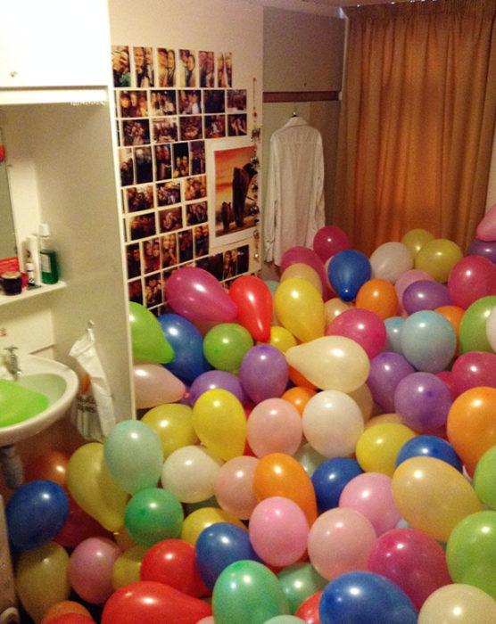 baño gracieta globos