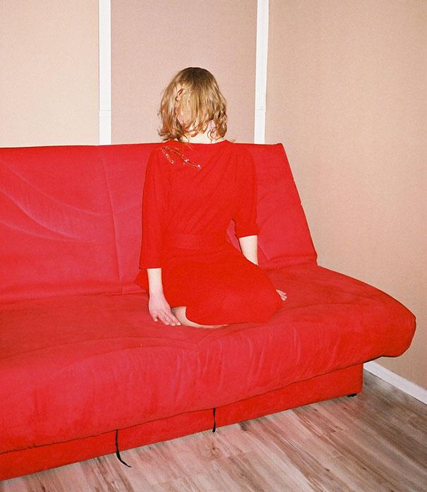 ropa igual que sillón