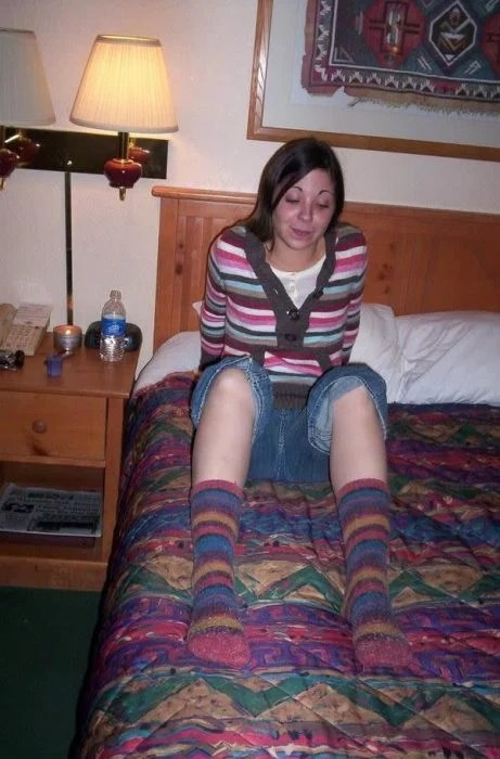calcetas igual que cobija