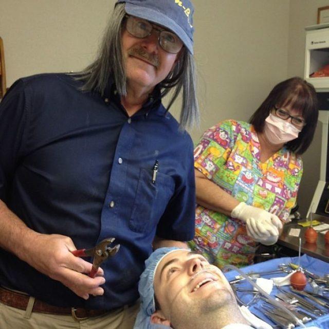 dentista/mecánico