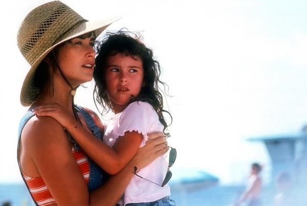 Demi Moore y su hija
