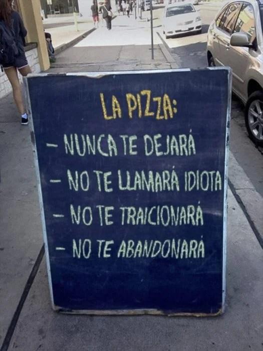 pizza publicidad