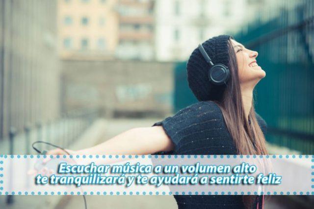 escuchar musica te coloca de buenas