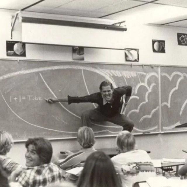 Padres cool maestro de matemáticas