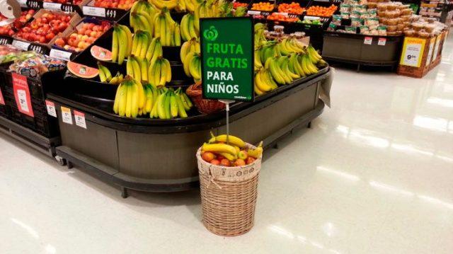 fruta para pequeños gratis