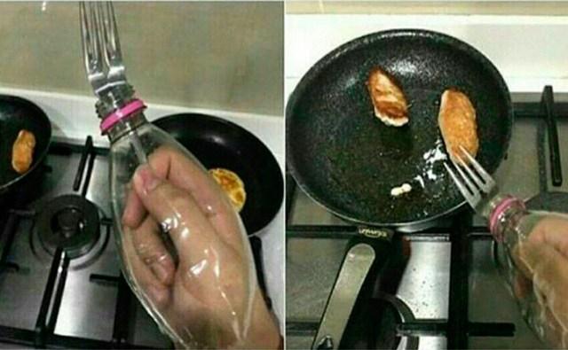 para que no salpique el aceite