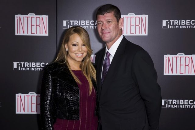 James Packer y Mariah Carey