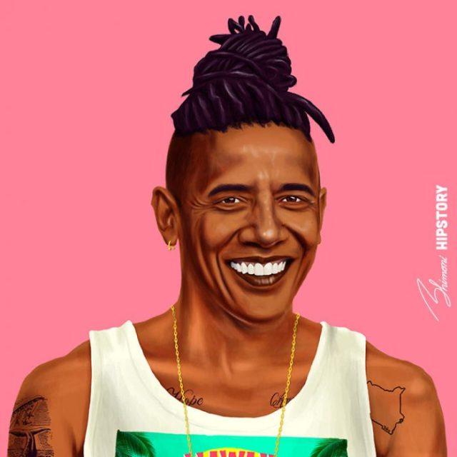 Líderes hipsters obama