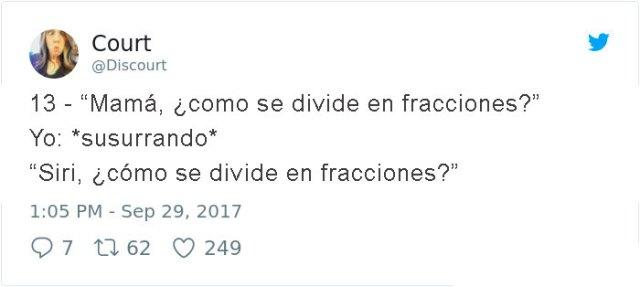 como se divide en fracciones?