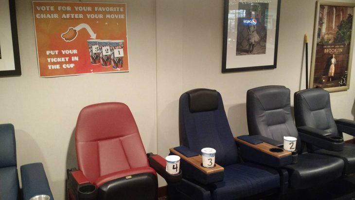 asientos de cine