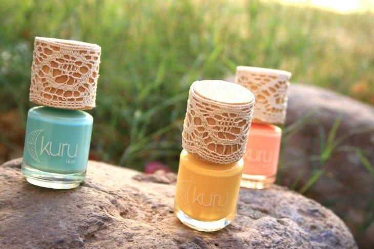 esmaltes orgánicos color pastel