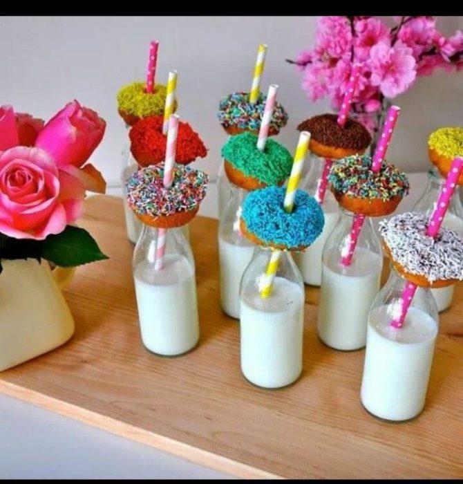 donuts fiestas infantiles