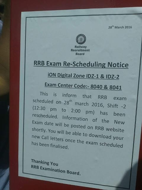 RRB NTPC Review 2nd Shift March 28th 2016   Railways Non technical Exam analysis Question paper Key