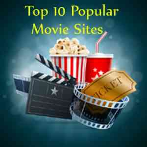 Top 10 Most Popular Movie Sites | Well Known Film Guides in internet about Movie Reviews, Trailers and many other details
