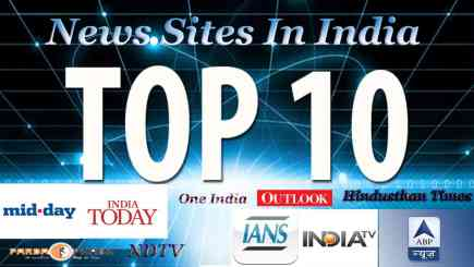 Top 10 News Sites In India   Latest and Breaking News Sites In India   Top News Sites