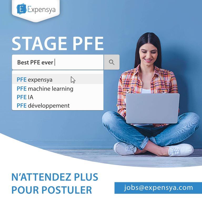 catalogue des stages pfe 2019    u00e0 expensya   u2013  u26d4 recruter tn