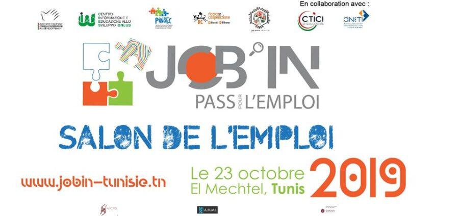 Salon de l'emploi «Job'in. Pass pour l'emploi»