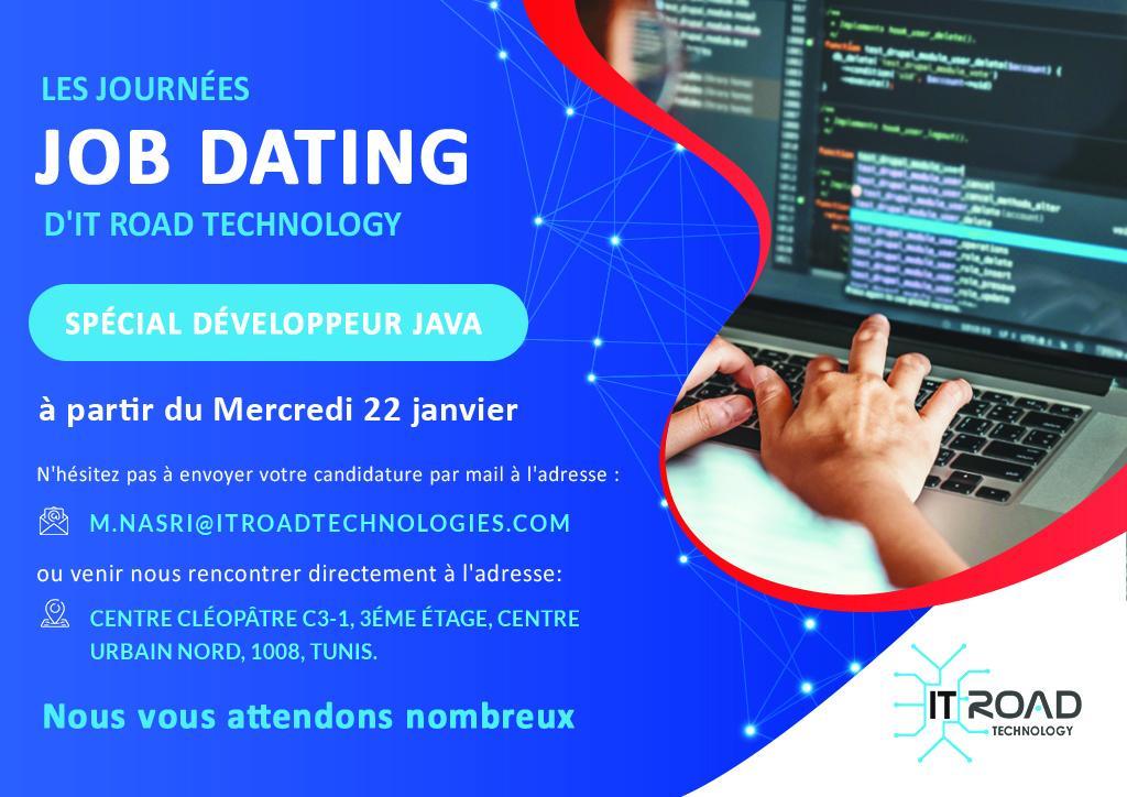 IT Road Technology  / organise  [un #Job #Dating]