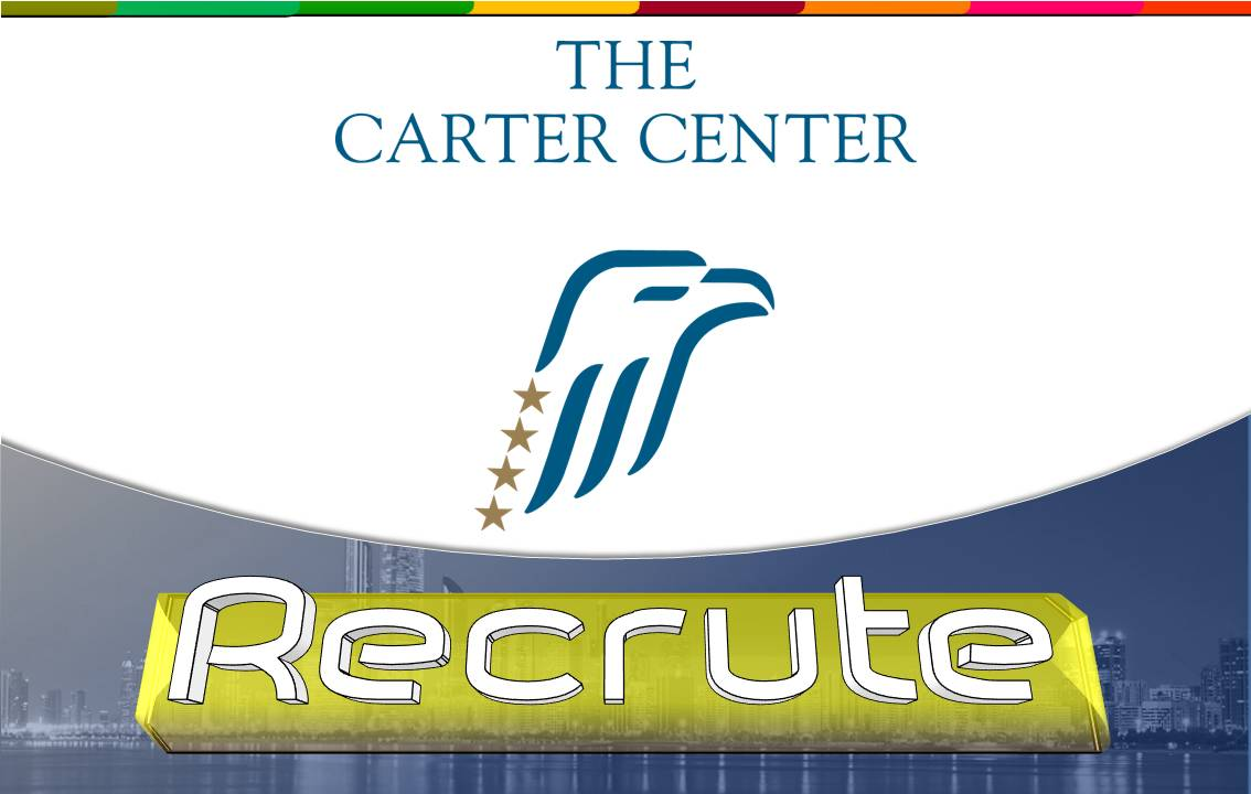 The Carter Center / Recrute