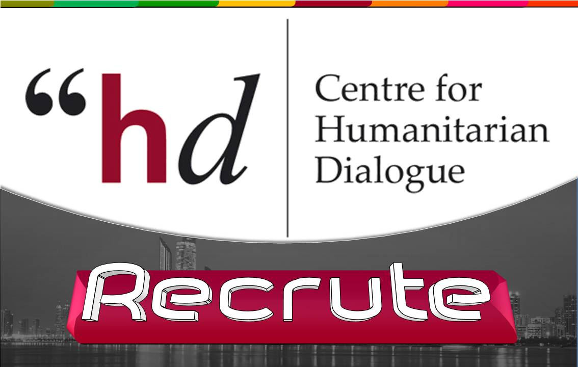 Centre for Humanitarian Dialogue (HD) / recrute