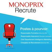 Monoprix / recrute [plusieurs profils:]