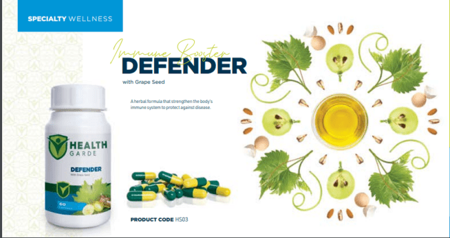 HEALTHGARDE DEFENDER with Grape Seed