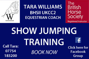 Tara Williams Jumping Clinic 29th October