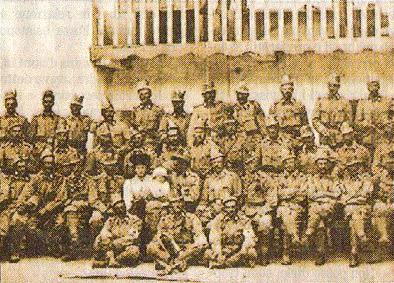 Un gruppo di Kaiserjäger ampezzani nel 1914