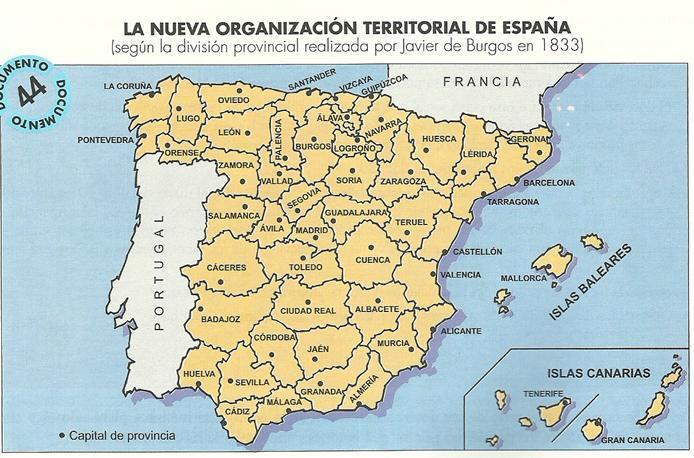 burgos mapa Mapa javier de Burgos – Recursos Académicos burgos mapa