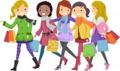 11467629-ilustracia-n-de-adolescentes-de-compras