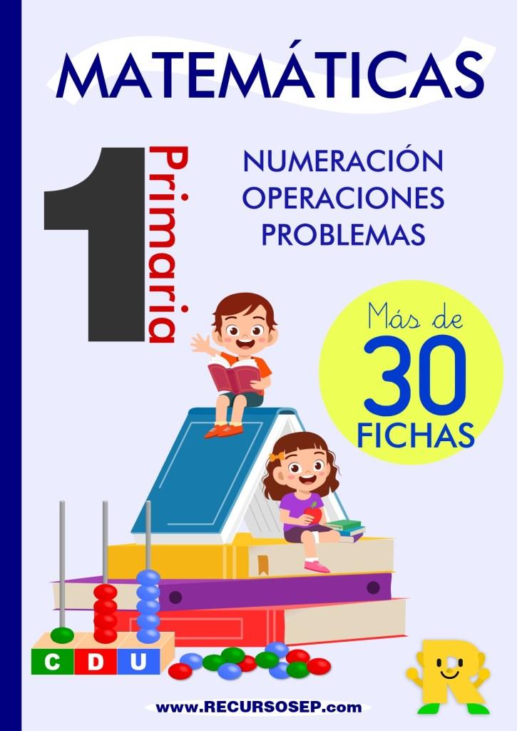 Increíble Cuadernillo De Matemáticas Gratis 1 º Primaria Más De 30 Fichas