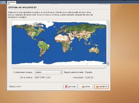 Instalacion de Ubuntu - geolocalizacion