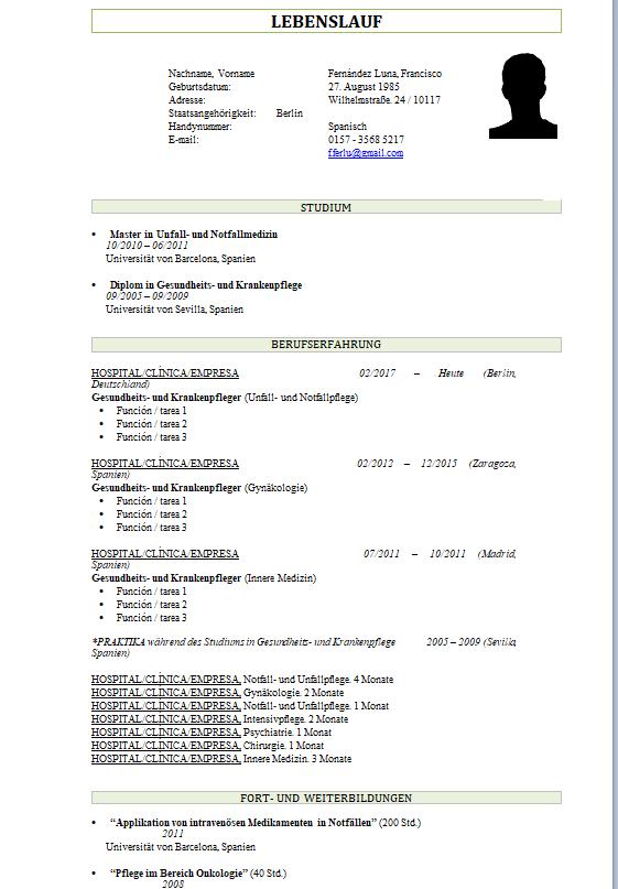 Currículum Alemania