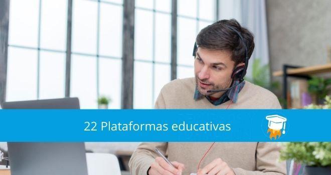 22 Plataformas educativas