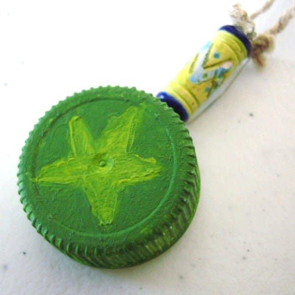 Reusing Plastic Bottle Caps | ecogreenlove
