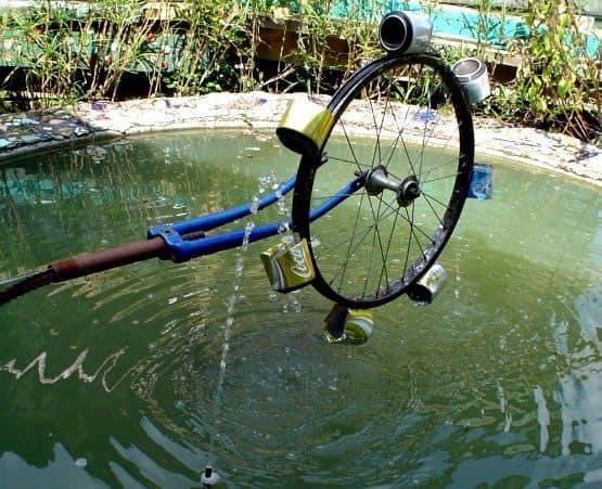 abita mustery house Water wheel