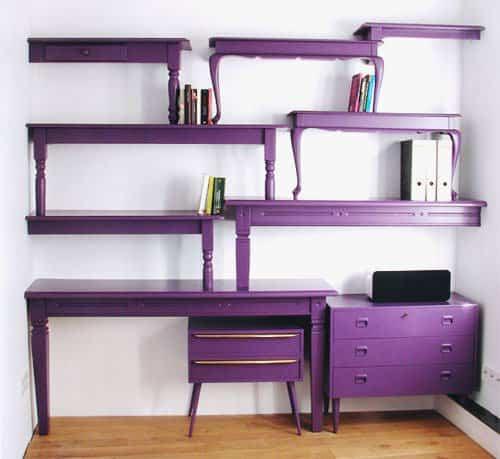 Tables as Shelves