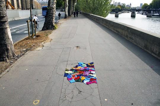 yarnpothole04 rect540 Nid de poule project