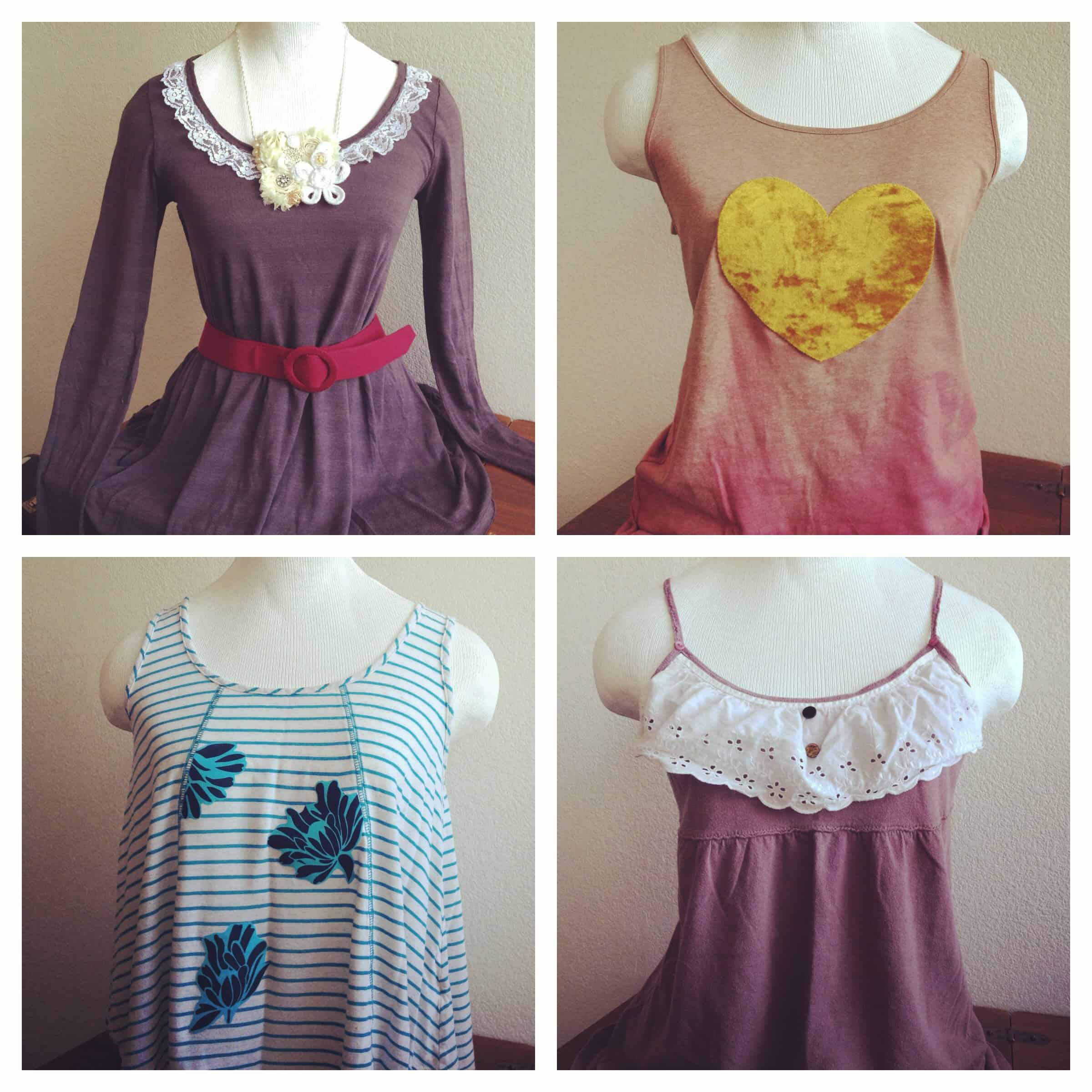 Upcycled Clothing Art And Hair Accessories Recyclart